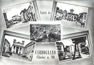 Cartolina Carbognano d'epoca